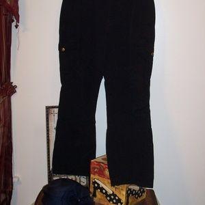 RALPH LAUREN BLACK CARGO PANTS JEANS 12